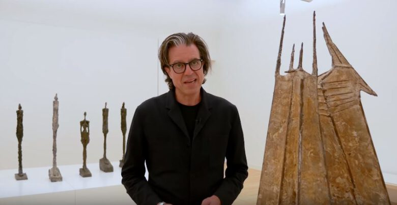 Guided tour through 'Giacometti-Chadwick, Facing Fear' by Ralph Keuning