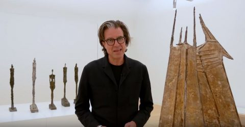 Guided tour of Giacometti-Chadwick, Facing Fear by Ralph Keuning