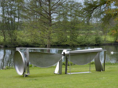 Anthony Caro at Cliveden