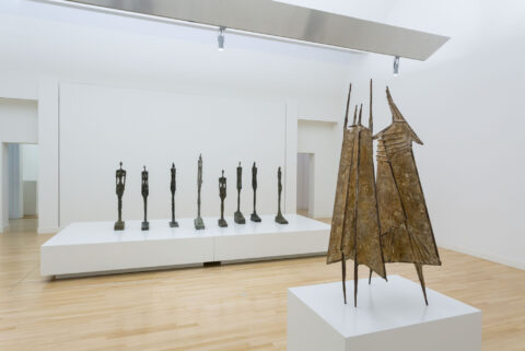 Giacometti-Chadwick Facing Fear at Museum de Fundatie