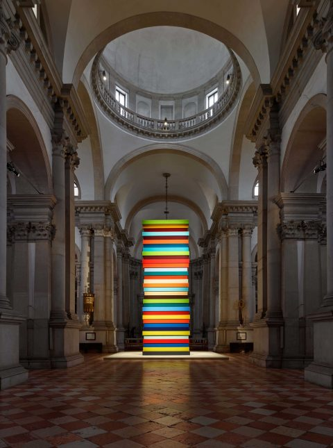 Sean Scully: 'HUMAN' at the Church of San Giorgio Maggiore