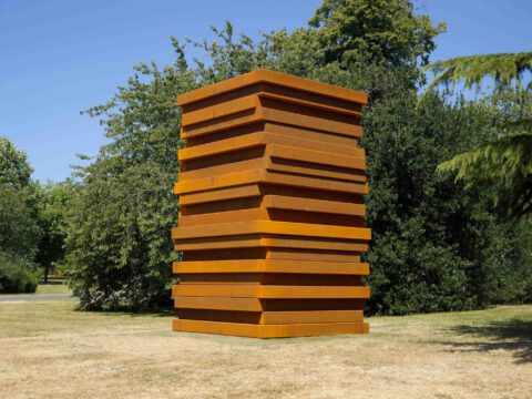 Sean Scully at Frieze Sculpture 2018