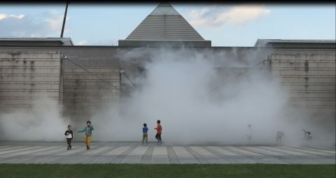 Fujiko Nakaya, Resistance of Fog at Art Tower Mito, Japan
