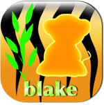 blake the wild tiger cub badge
