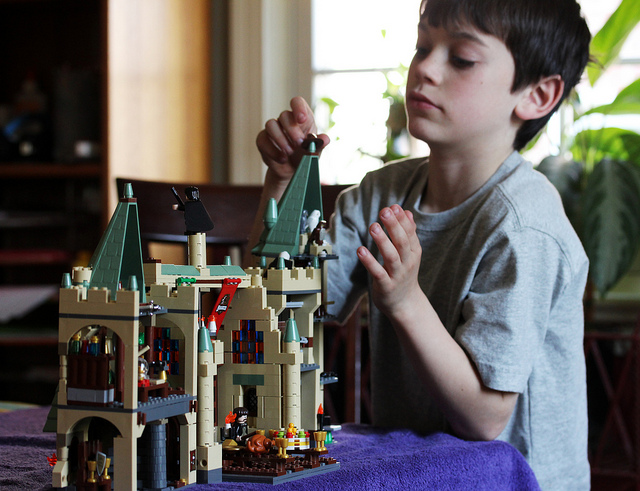 Hogwarts Castle LEGO
