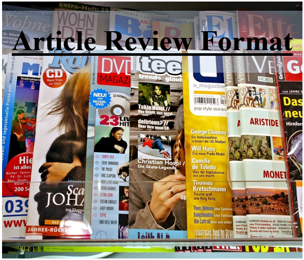 example of article review writing