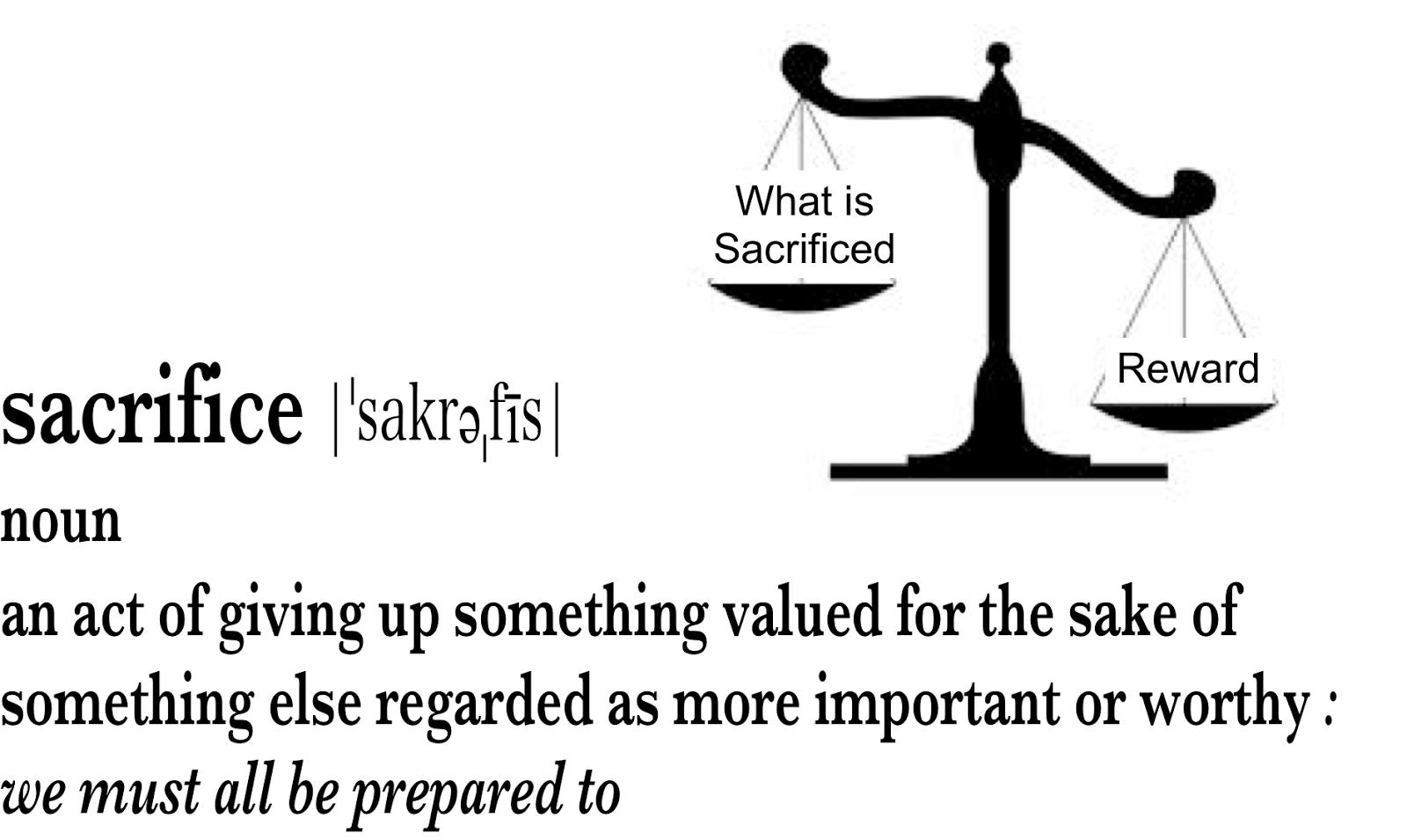 sacrifice essay 1