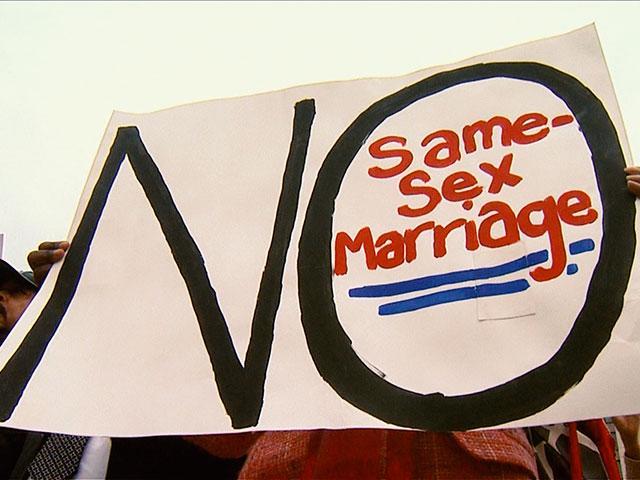 essay against gay marriage