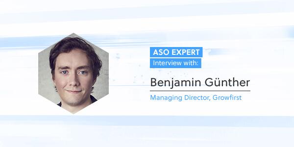 ASO Expert Interview: Benjamin Günther