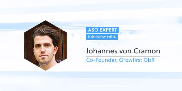 ASO Expert Interview: Johannes von Cramon