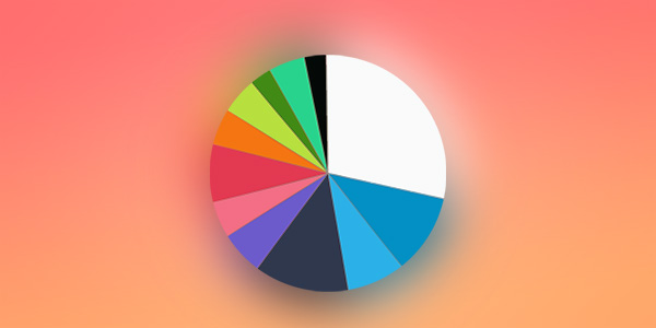 [INFOGRAPHIC] App Icon Color Palette Analysis by Category (iOS)