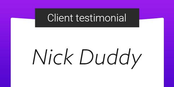 ASO Client Testimonial: Nick Duddy from Miratrix