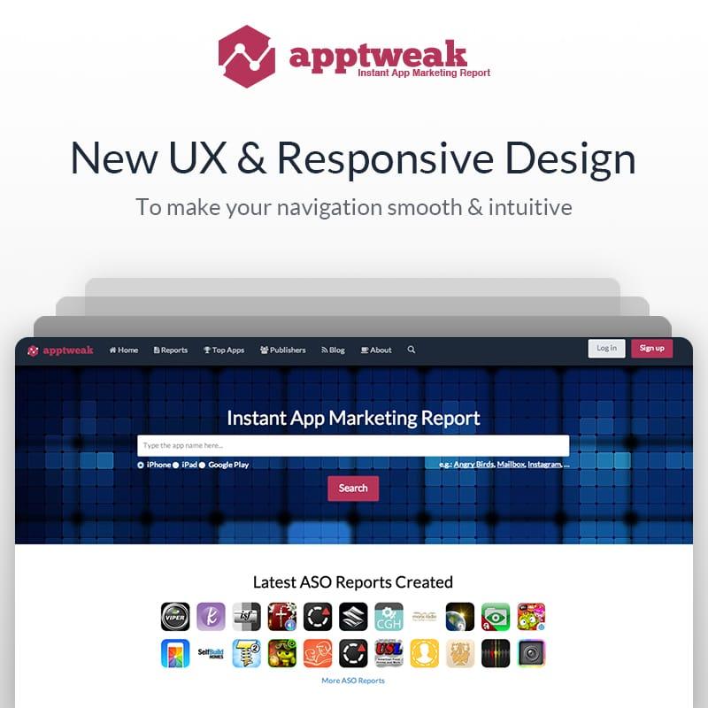 New UX & Responsive Design