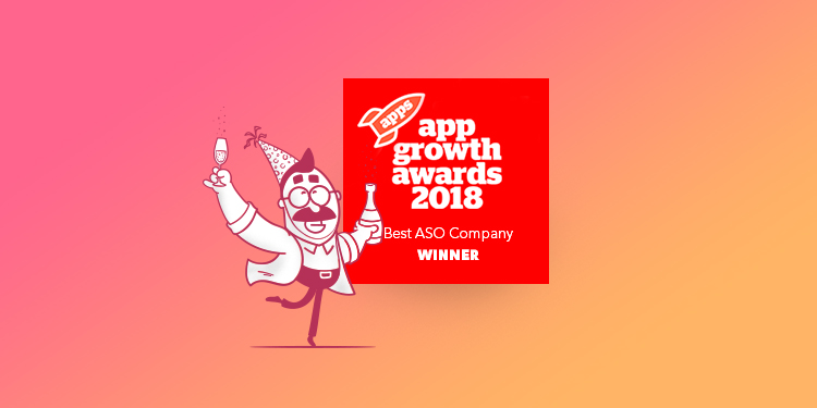 "AppTweak Awarded ""Best ASO Company"" of the Year"