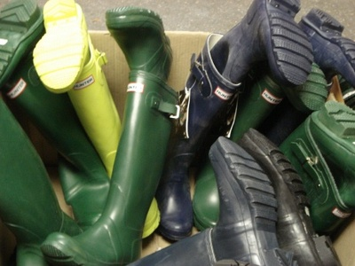 Hunter Boots: Alive and Kicking