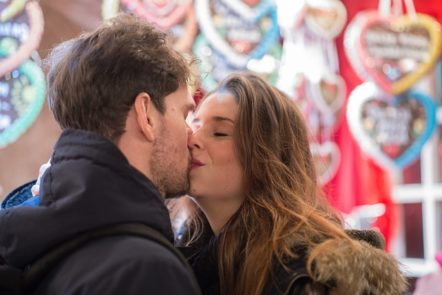 Christmas Kissing