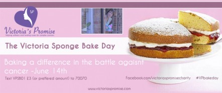 Charity: Victoria Sponge Bake Day