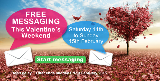 Free Messaging Event on Valentine's Weekend