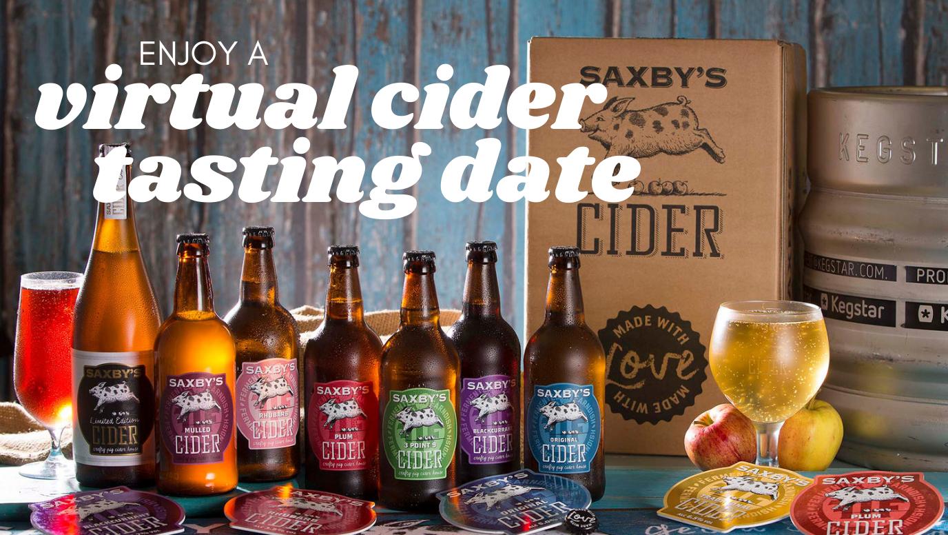 Virtual 'Cider Tasting' Date