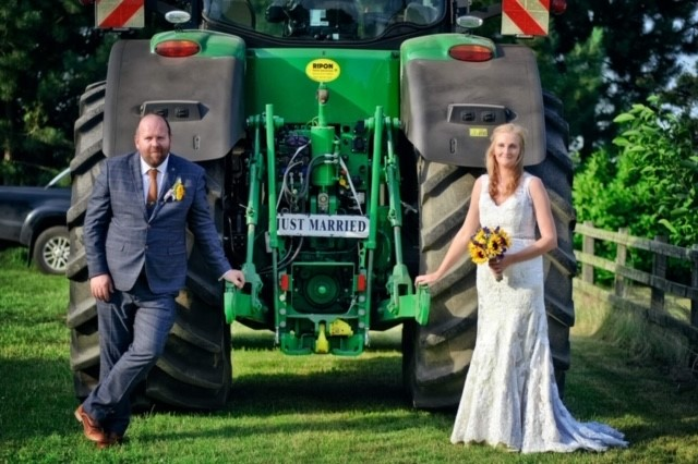 3 weddings and a tractor!
