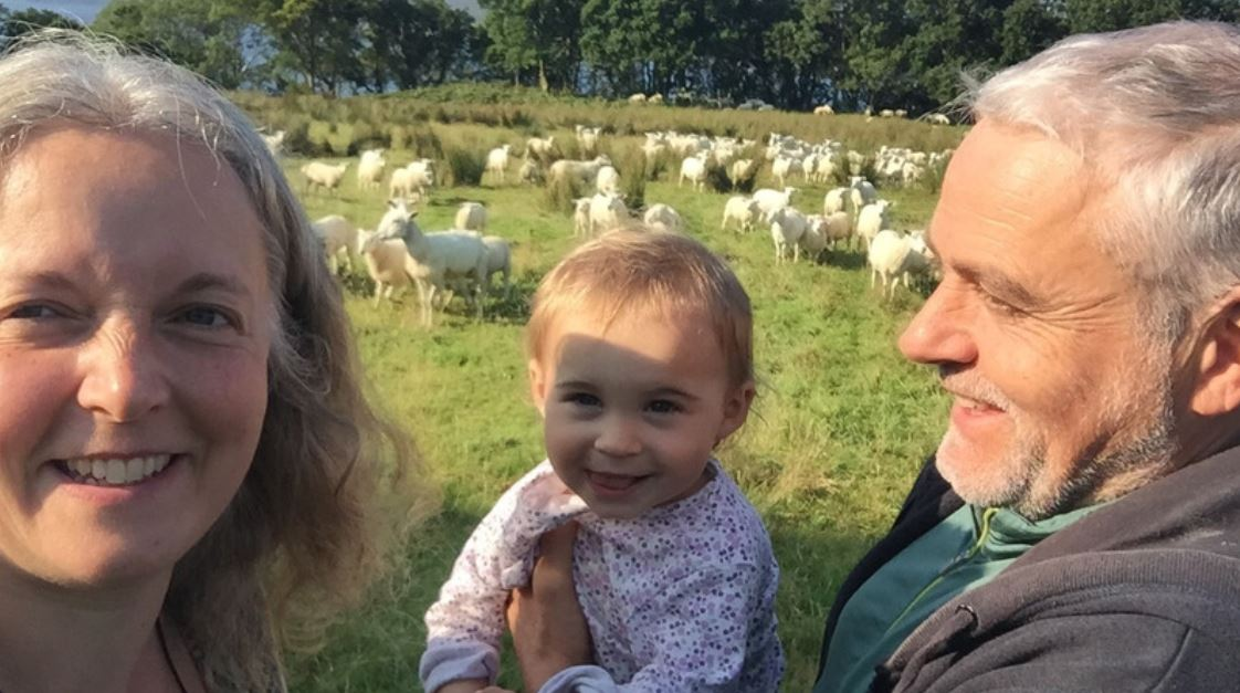 Lotte's life changing love with remote Scottish farmer