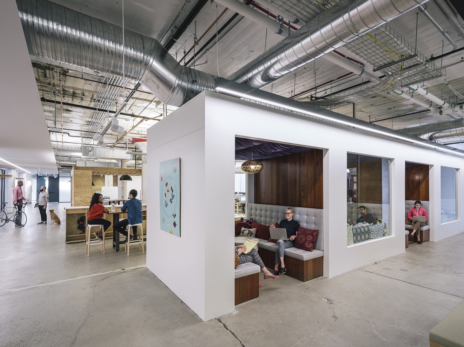 A tour of airbnb s beautiful san francisco headquarters for Kitchen library portland