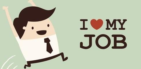 I-love-my-job foto articolo