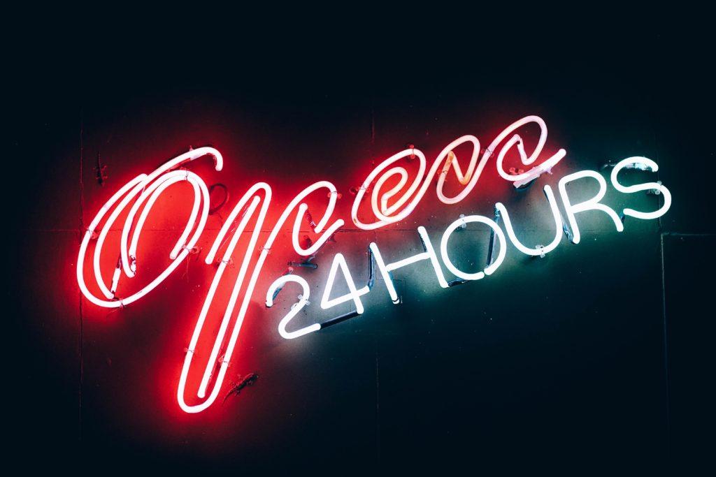 lavori notturni 24 hours