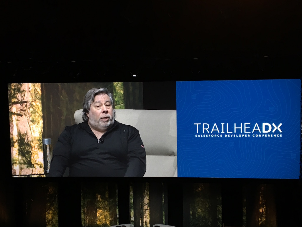 "Closing session with Steve ""Woz"" Wozniak"