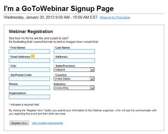 Lead Generation Webinar