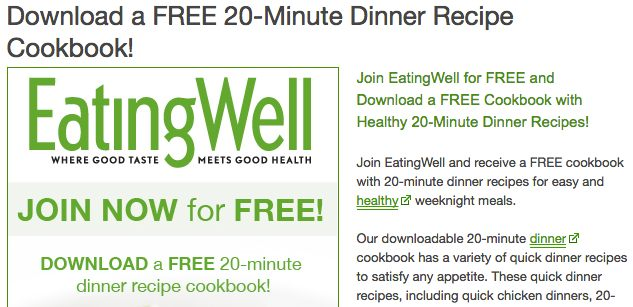 Eating Well Lead Magnet