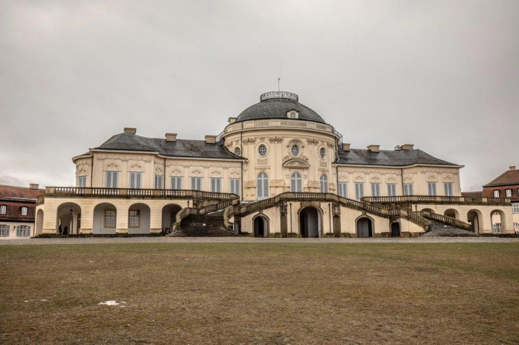 Aufnahme eines Gebäudes