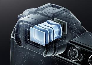 Digitaler Sucher der Nikon Z7