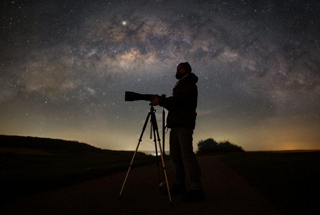 Sasan Amir und die Astrofotografie