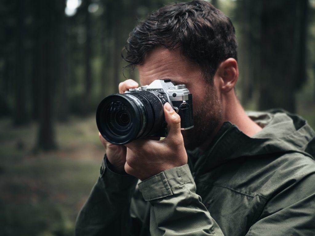 Daniel Ernst im Einsatz mit der OM-D E-M5 Mark III