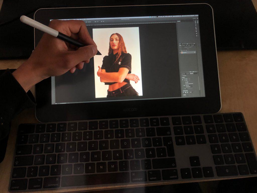 Wacom One Stift-Display und Grafik-Tablet