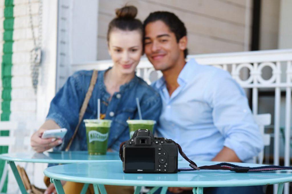 Nikon D3500 mit SnapBridge