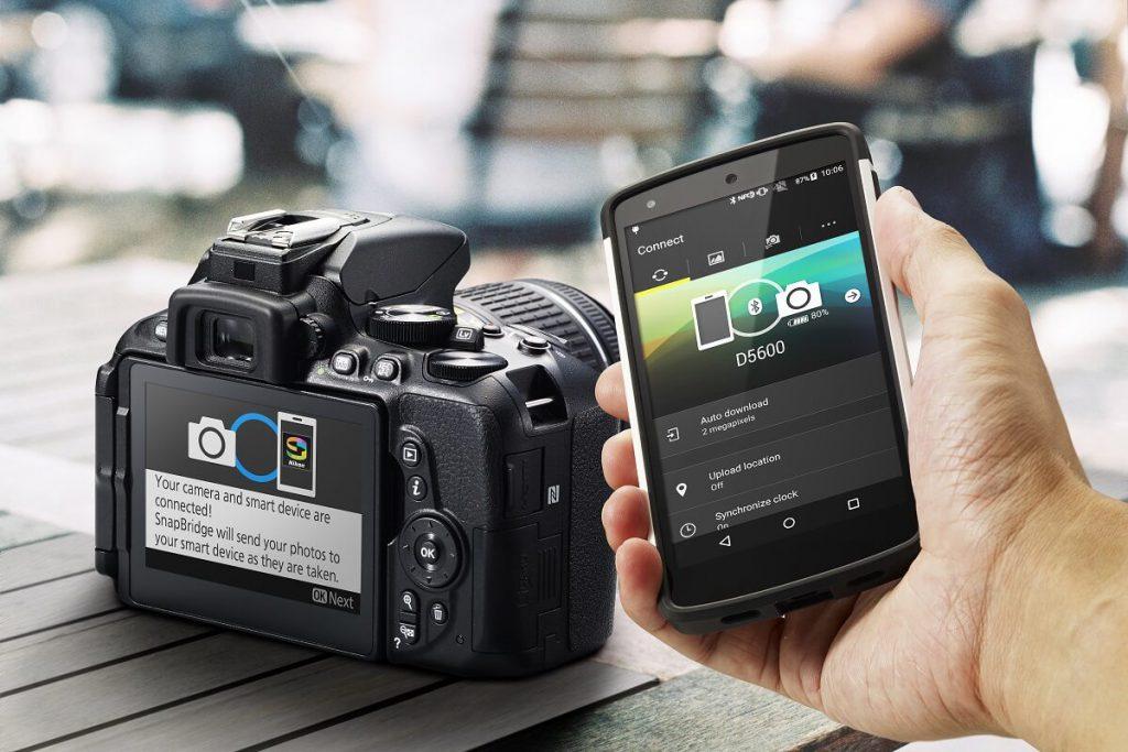 Snapbridge App mit der Nikon D5600