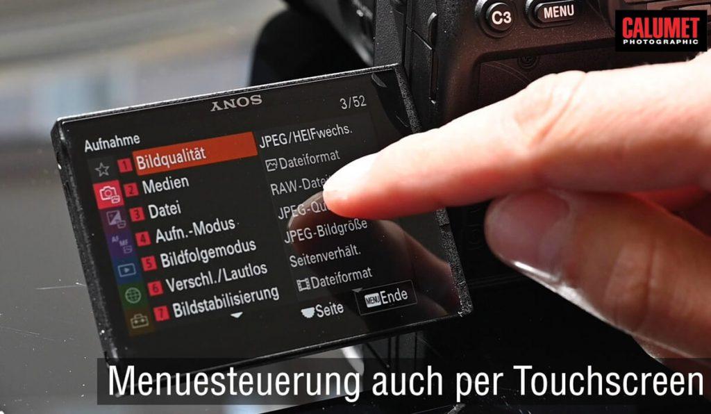 Sony Alpha 7S III - Das neue Menü