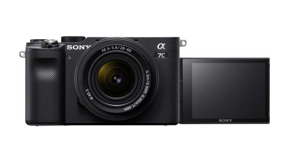 Sony alpha 7 C Display