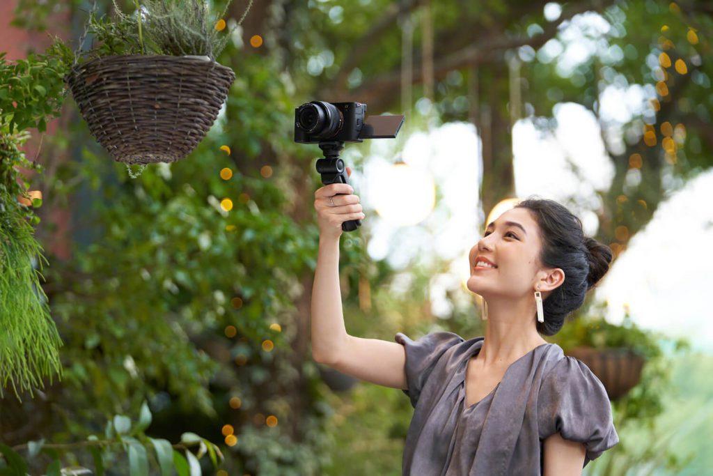 Sony A7C - Filmen mit Stativ-Griff