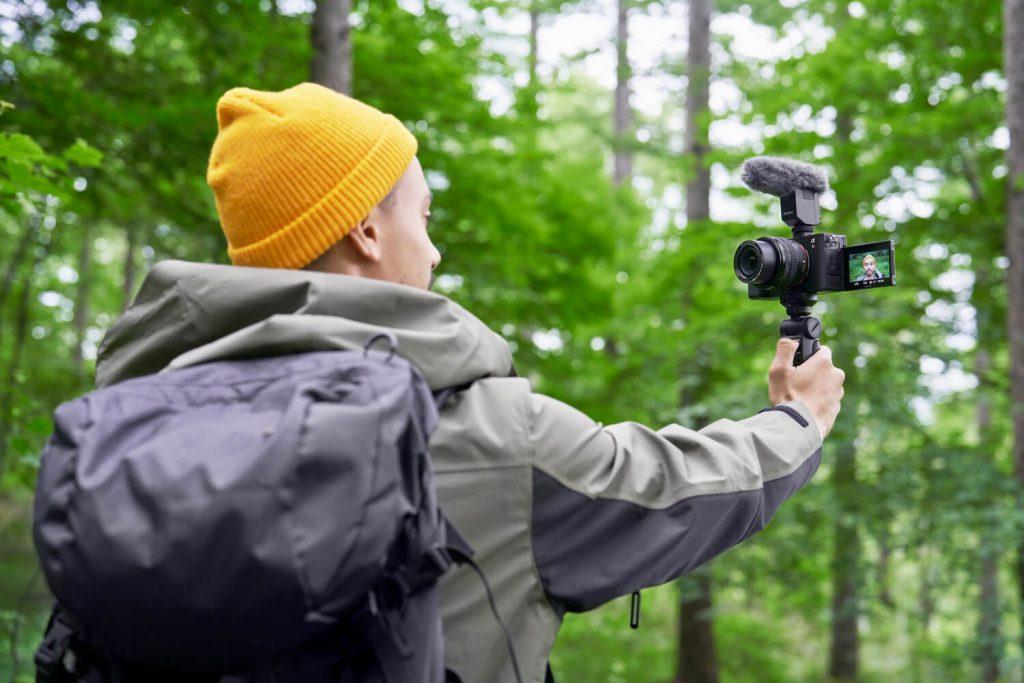 Sony Alpha 7 C Vlog im Wald