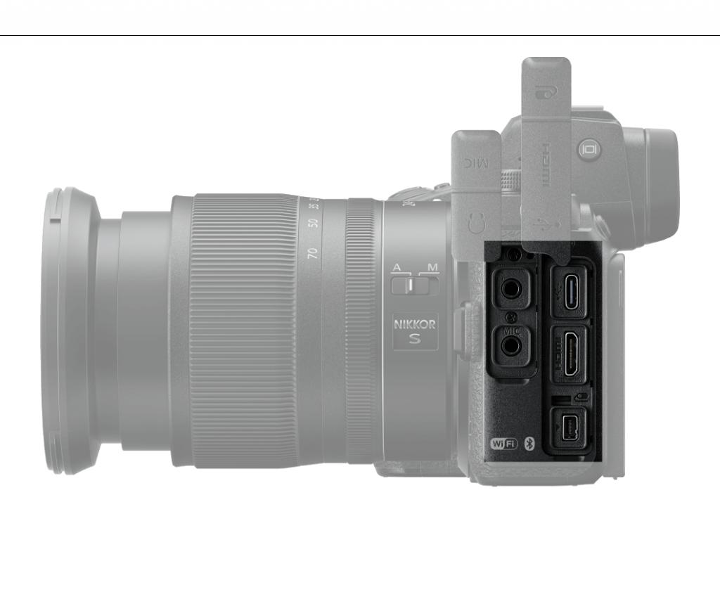 Nikon Z6 II Anschlüsse