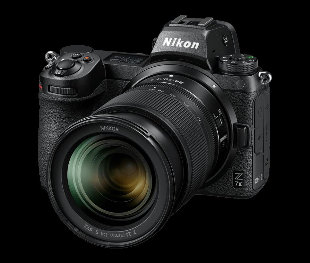 Nikon Z7 II - Frontansicht
