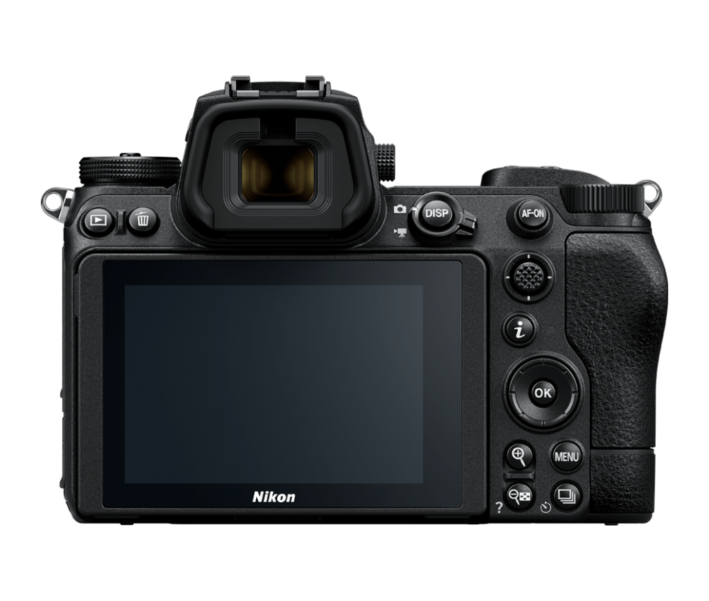 Nikon Z7 II - Rückansicht