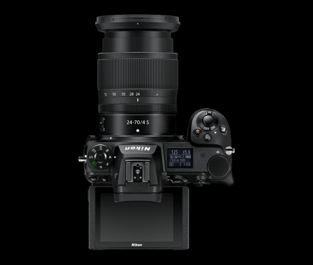 Nikon Z7 II - von oben