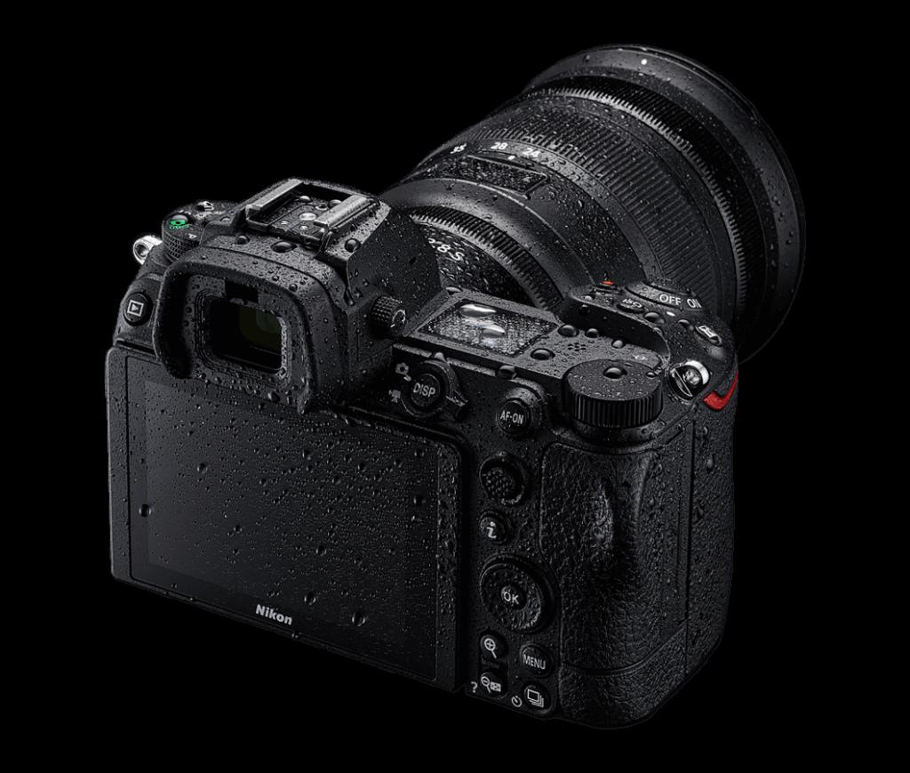 Nikon Z7 II - Wasserfestigkeit