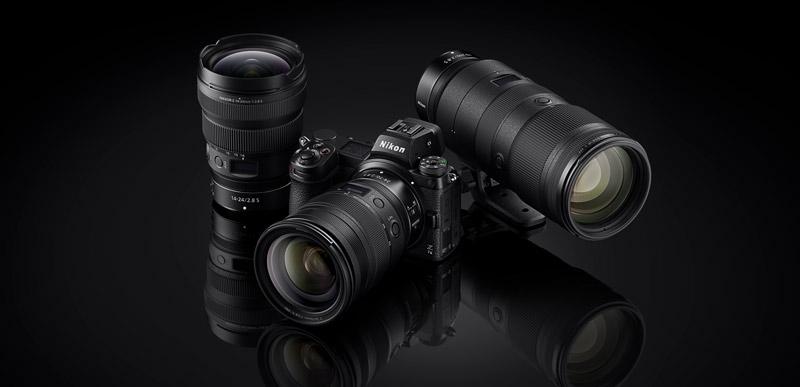 Nikon Z7 II mit Objektiven