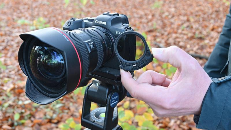 Canon EOS R Adapter Einsteckfilter
