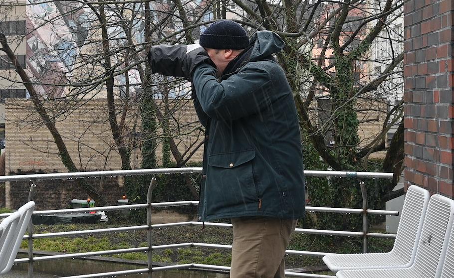 Im Regen fotografieren - Regenschutz